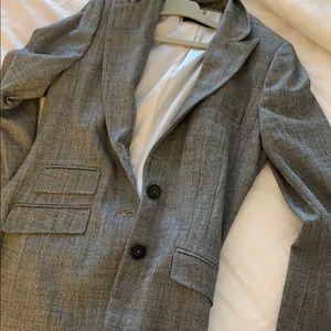 Elie tahari blazer grey